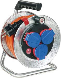 Prelungitor Exterior Brennenstuhl Garant S cu  tambur, 3 prize, 10m, IP44 [0]