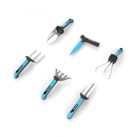Set 6 unelte si manusi pentru gradina Cellfast  ERGO [0]