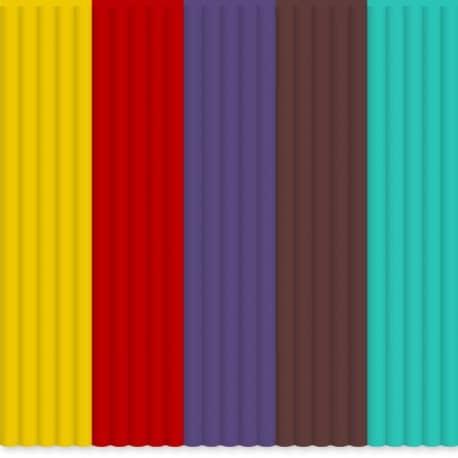 Set filamente ABS 3Doodler Create - multicolor MIX 5 [0]
