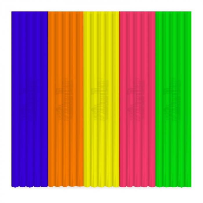 Set filamente flexibile pentru 3Doodler Create - multicolore, FLEXY 3 [0]