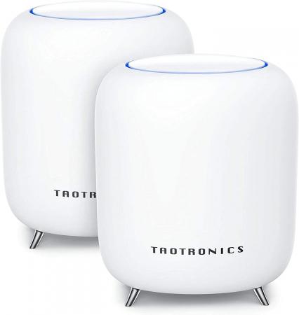 Sistem Wi-Fi Mesh Taotronics Tri-Band (2-pack) AC3000 Gigabit cu acoperire completa pentru casa [0]