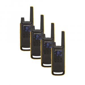 Statie radio PMR portabila Motorola TALKABOUT T82 Extreme Quad set, 4 buc [0]