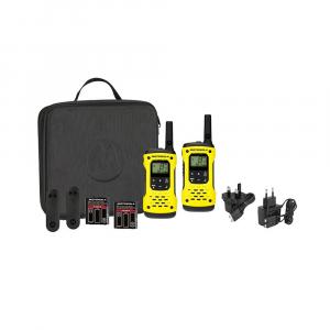 Statie radio PMR portabila Motorola TLKR T92 H2O IP67 set, 2 buc, Galben [0]