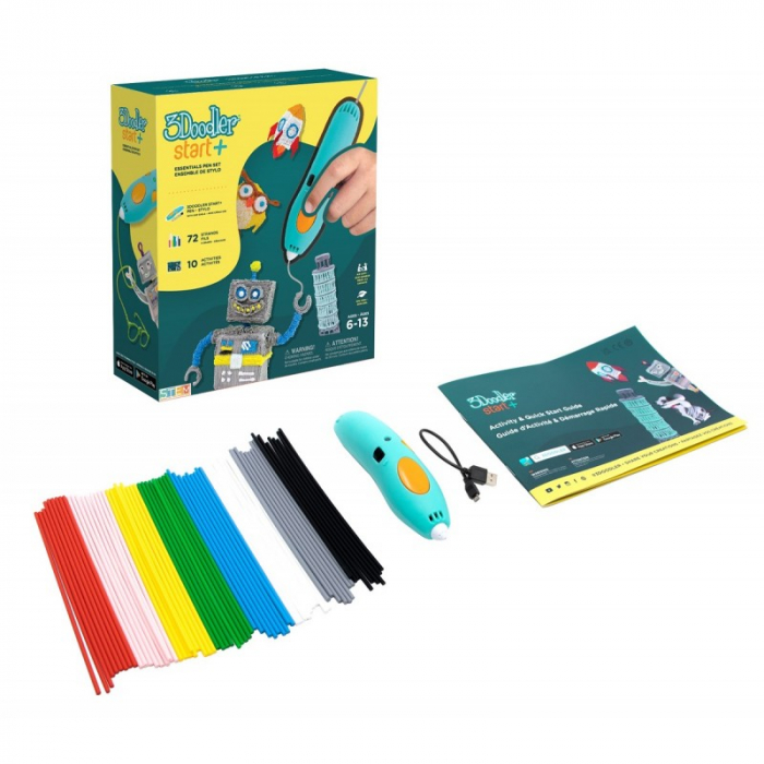 Creion 3D 3Doodler Start + pentru copii 6+ vers 2021 [0]
