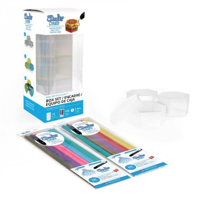 Suport obiect, pentru decorat cu Creion 3Doodler Create - include filamente [9]