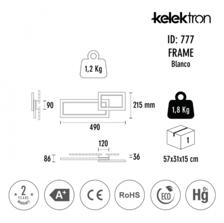 Aplica Frame LED [2]