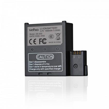 Baterie de rezerva pentru Camera Muvi K-Series handsfree Baterie de rezerva pentru Camera Muvi K-Series handsfree Baterie de rezerva pentru camera actiune Veho Muvi K-Serie [0]