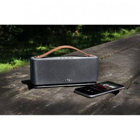 Boxa portabila wireless Bluetooth Veho M6 Retro [9]