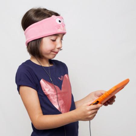 Casti audio bentita pentru copii, cu limitare volum, Snuggly Rascals [7]