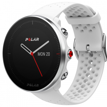 Ceas smartwatch Polar Vantage M, GPS, Medium/Large, White [0]