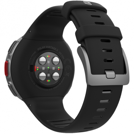 Ceas smartwatch Polar Vantage V, GPS, Senzor H10 HR, Black [5]
