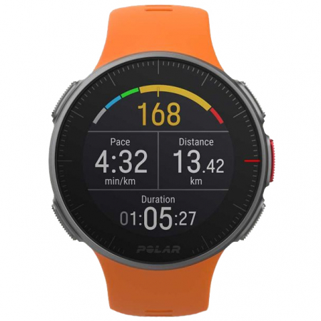 Ceas smartwatch Polar Vantage V, GPS, Senzor H10 HR, Orange [3]