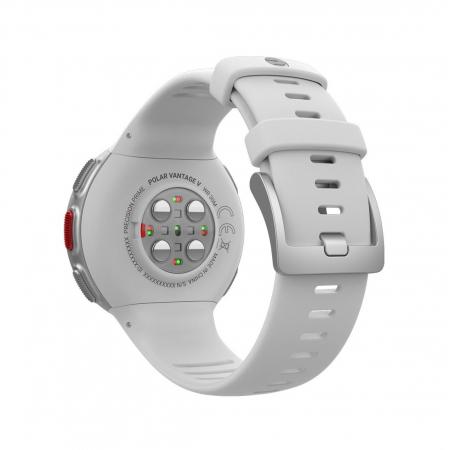 Ceas smartwatch Polar Vantage V, GPS, Senzor H10 HR, White [2]