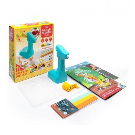 Creion 3D pentru copii 3Doodler 3D Build and Play 4+ [0]