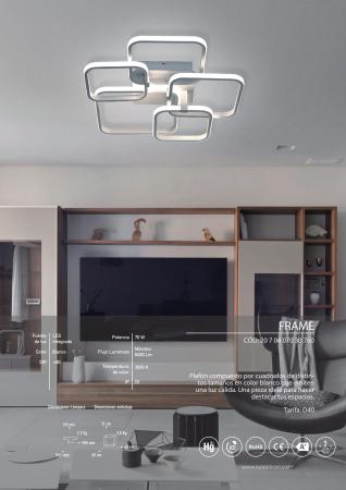 Kelektron Lampa LED FRAME IP20 SUP. 60W 30K W. [3]