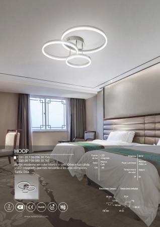 Kelektron Lampa LED HOOP IP20 SUP. 80W 30K W. [2]