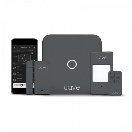 Kit de securitate wireless Veho Cave Smart Home cu hub, PIR, senzori [0]