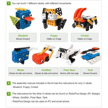 Kit robotic educational Robotis Play 600 PETs [0]