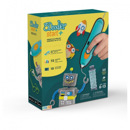 Creion 3D 3Doodler Start + pentru copii 6+ vers 2021 [1]