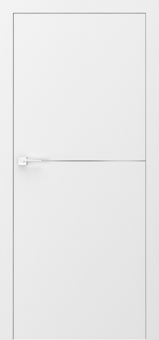 Usa Porta Doors, Desire UV, model 3, insertii argintii 0