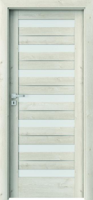Usa Porta Doors, Verte Home, model D.7 cu insertii 0