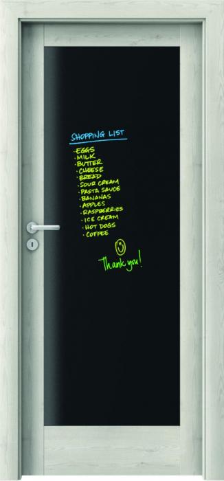 Usa Porta Doors, Verte Home, model E.0 cu tabla magnetica 0