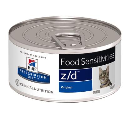 Hill's PD z/d Food Sensitivities  hrana pentru pisici 156 g [0]