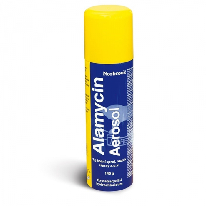 Spray cu antibiotic Alamycin Aerosol 140g 0