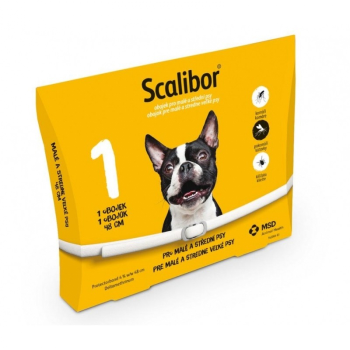 Zgardă Antiparazitară Scalibor pentru câini (48cm) 0