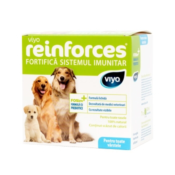 Supliment Nutritiv pentru caini Viyo Reinforces Dog all ages 30 x 30ml 0