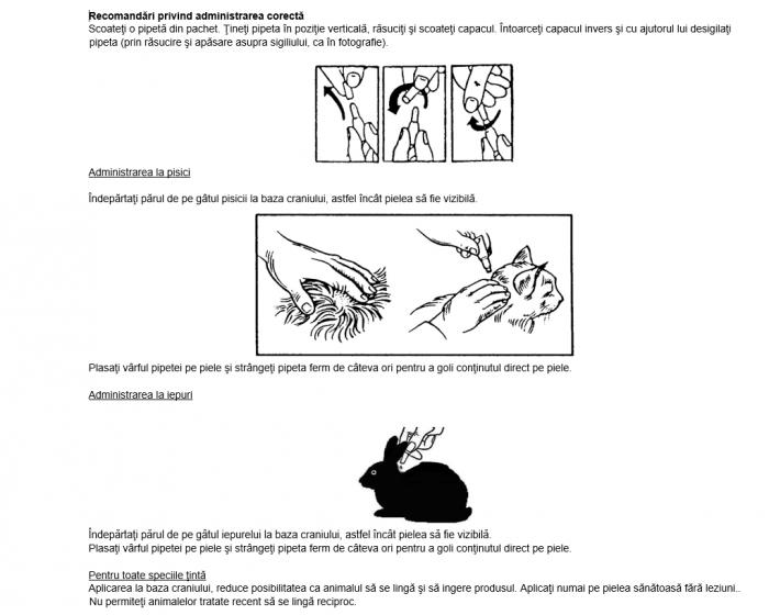 Deparazitare externa pentru pisici si iepuri Advantage 80 4-8 kg cutie cu 1 pipeta 1