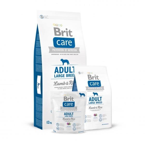 Hrana uscata caini, Brit Care Adult Large Breed Lamb and Rice 12 kg 1