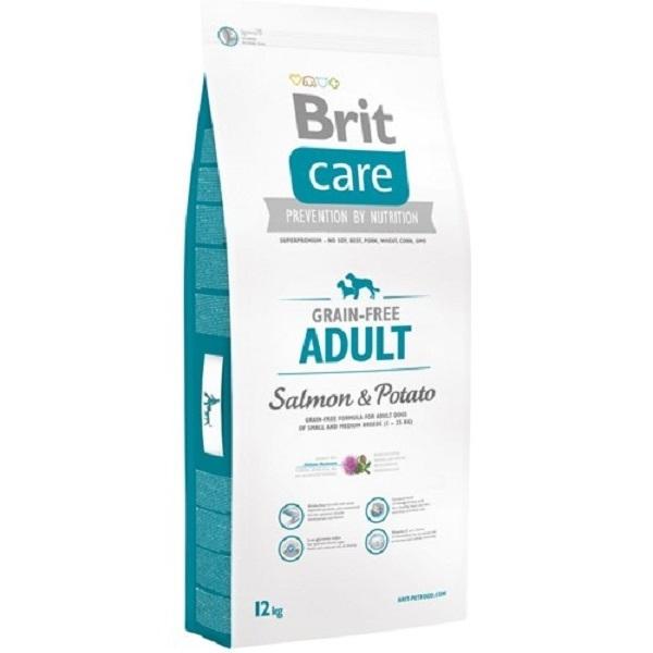Hrana uscata pentru caini Brit Care Grain-free Adult Somon si Cartofi 12 Kg 0