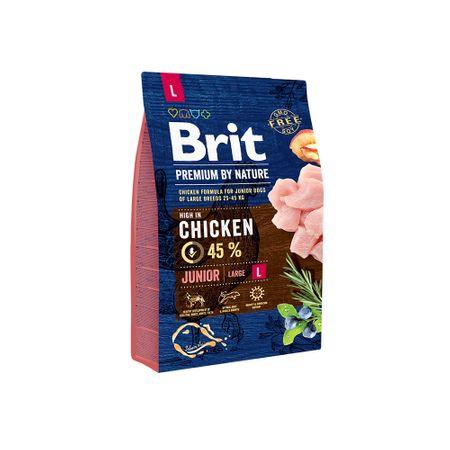 Hrana uscata caini Brit Premium Junior L 3 Kg [0]