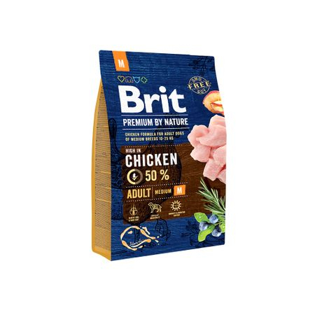 Hrana uscata caini Brit Premium Adult M 3 Kg [0]