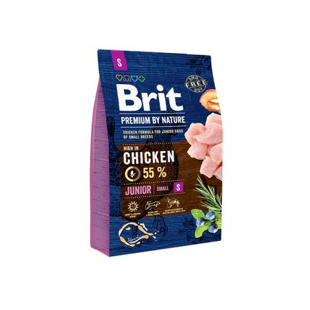 Hrana uscata caini Brit Premium Junior S 3 Kg [0]