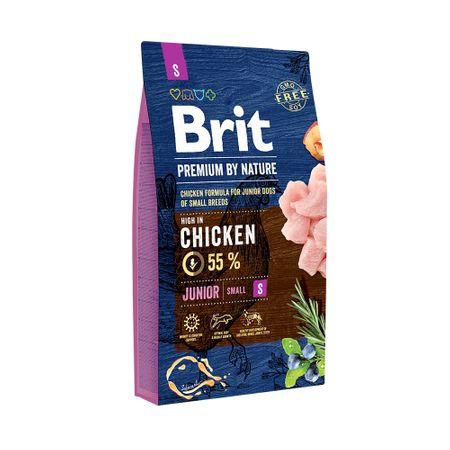 Hrana uscata caini, Brit Premium, Junior S, 8 Kg 0