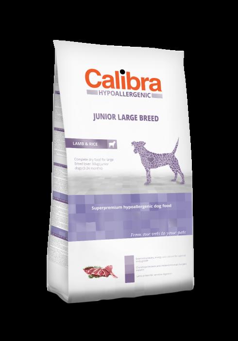 Hrană uscată pentru câini - Calibra Dog HA Junior Large Breed miel si orez 3kg 0