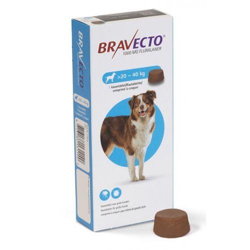 Comprimat deparazitare externă câini de 20 - 40 kg - Bravecto [0]