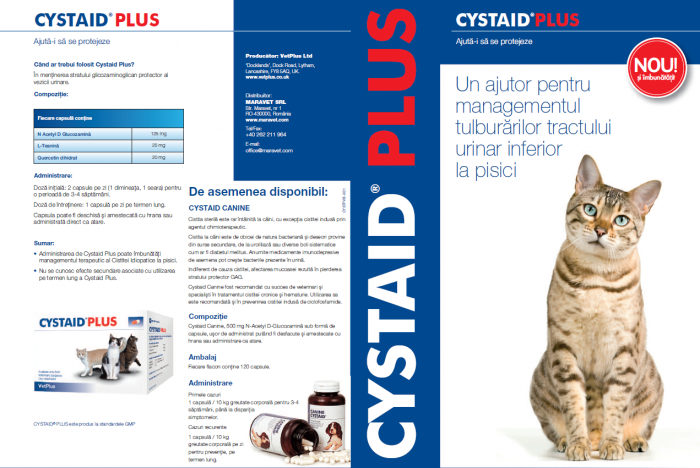Cystaid Plus cutie cu 30 capsule 1