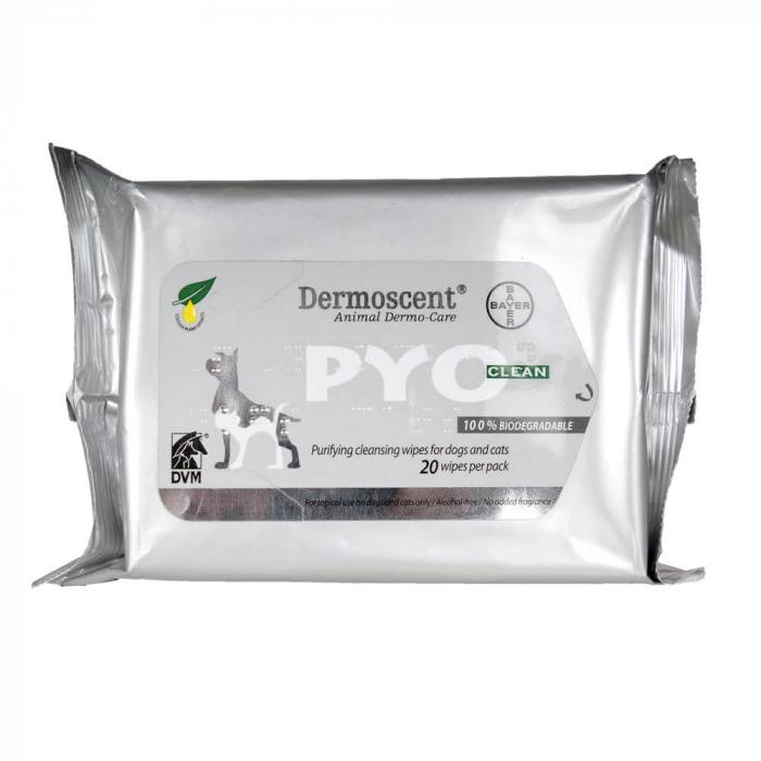 Dermoscent PYOclean Wipes 20 servetele [0]