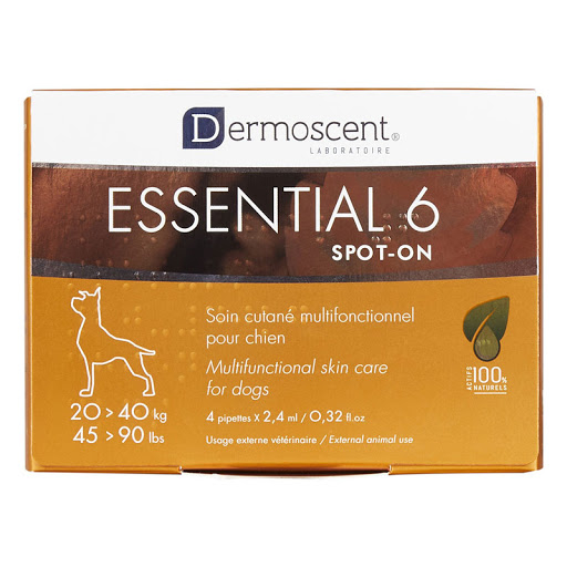 Dermoscent Essential 6 Spot-On Dog 20-40kg 4 pipete 0