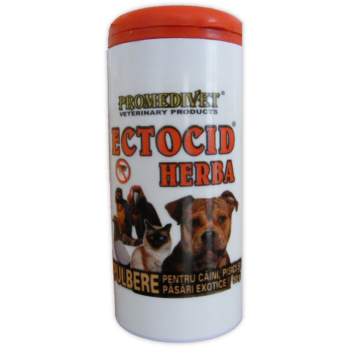 Ectocid Herba pulbere antiparazitara 50gr [0]