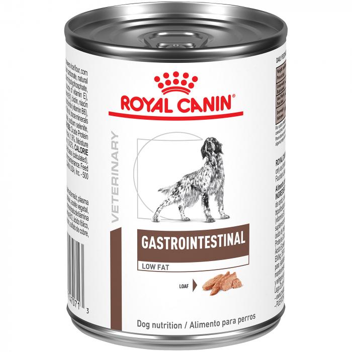 Royal Canin Veterinary Diet Dog Gastro Intestinal Low Fat conserva 410g [0]