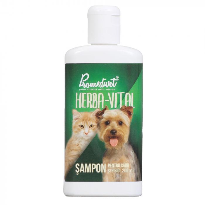Sampon Herba Vital pentru caini/pisici 200ml 0