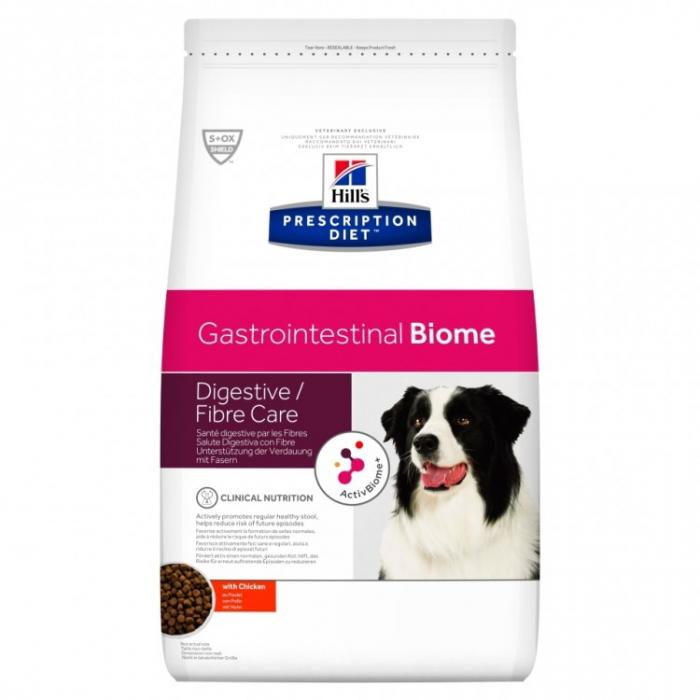 Hill's Prescription Diet Gastrointestinal Biome hrană pentru câini 10 kg 0