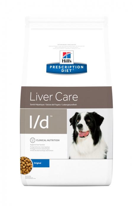 Hill's PD L/D Liver Care  hrana pentru caini 12 kg 0