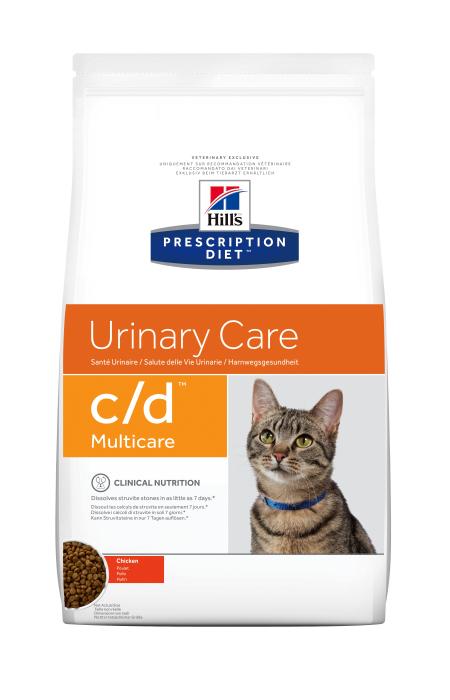 Hrana uscata dieta pentru pisici Hills PD C/D Multicare Chicken 10 kg 0