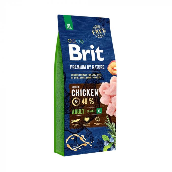 Hrană uscată pentru câini - Brit Premium Adult XL 15kg 0
