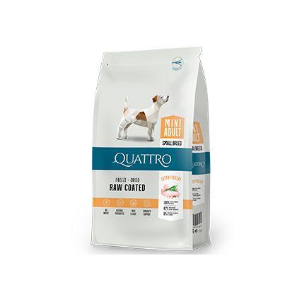 Hrana uscata pentru caini Quattro Adult Mini Breed Extra Poultry 7kg [0]